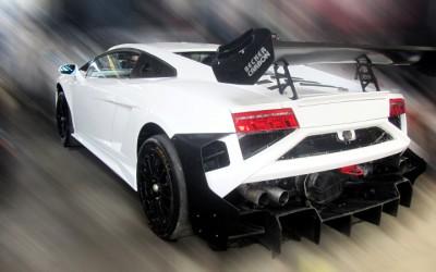 Lamborghini Gallardo Makin Gahar di Tangan Tomi Airbrush