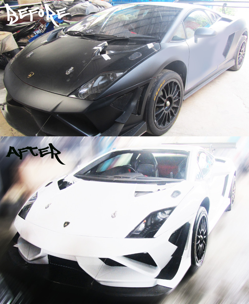 lamborghini gallardo makin gahar di tangan tomi airbrush tomi airbrush. Black Bedroom Furniture Sets. Home Design Ideas