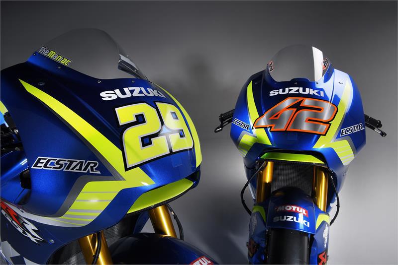 Suzuki Ecstar Siap Hadapi MotoGP 2017
