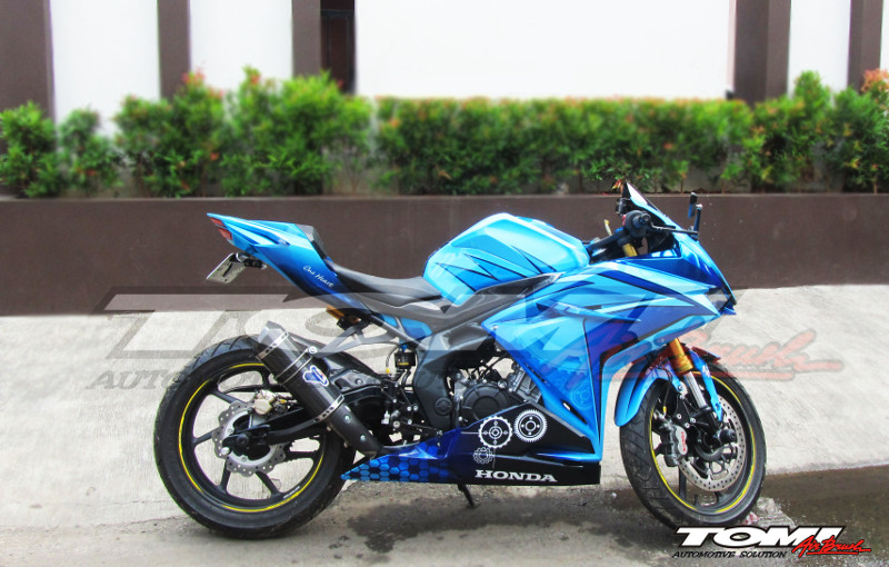 Modifikasi Keren Honda All New CBR250 RR
