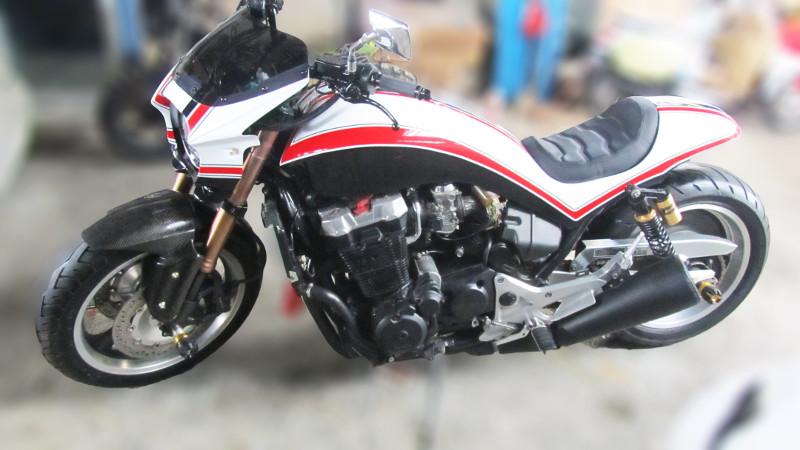 Modifikasi Honda CB 1100 Pro Street