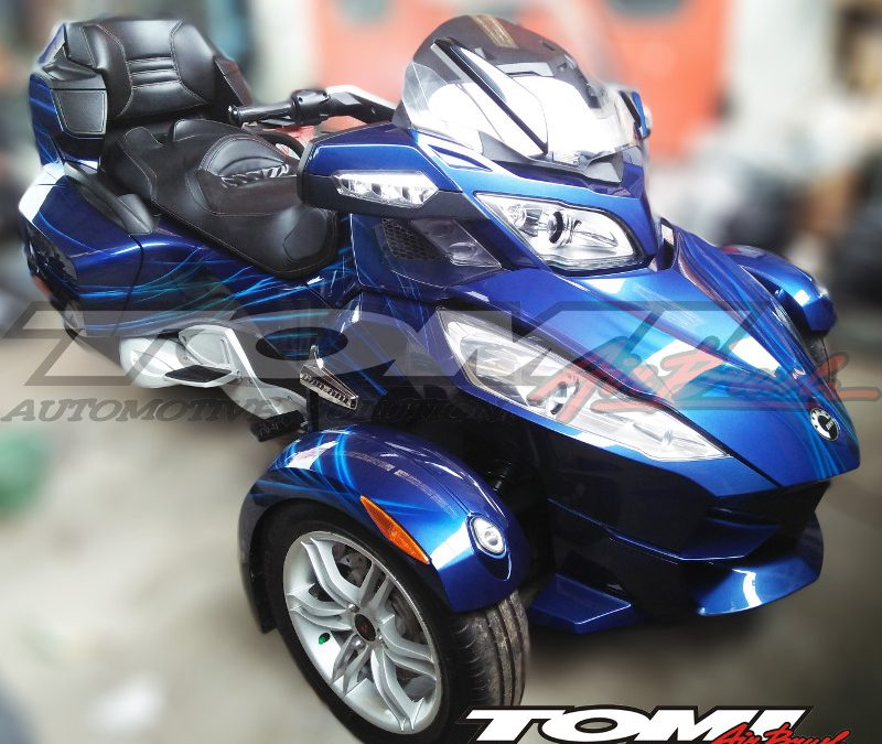 Modifikasi Airbrush Can-Am Spyder