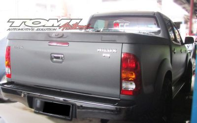Wrapping Sticker Toyota Hilux