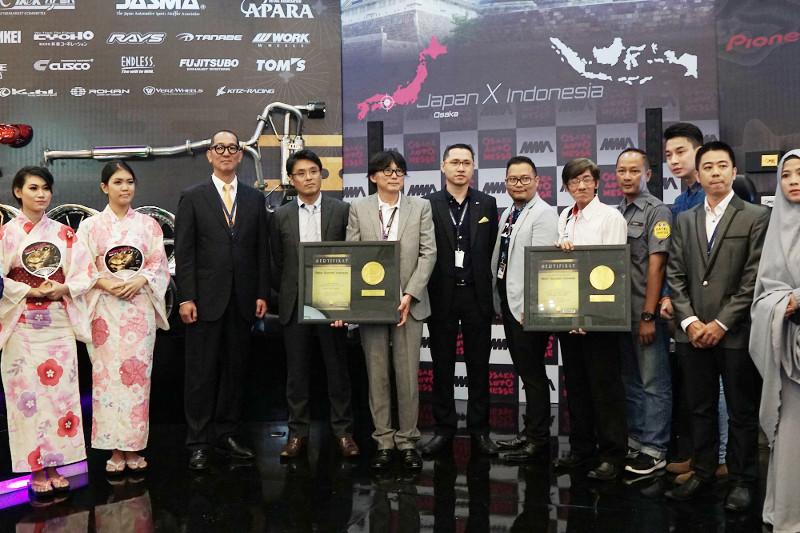 Penghargaan ROI untuk Kerjasama Aftermarket Indonesia-Jepang Pertama