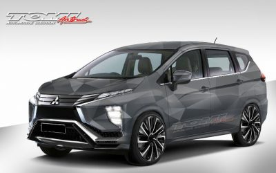 Modifikasi Virtual Mitsubishi Xpander dari Tomi Airbrush