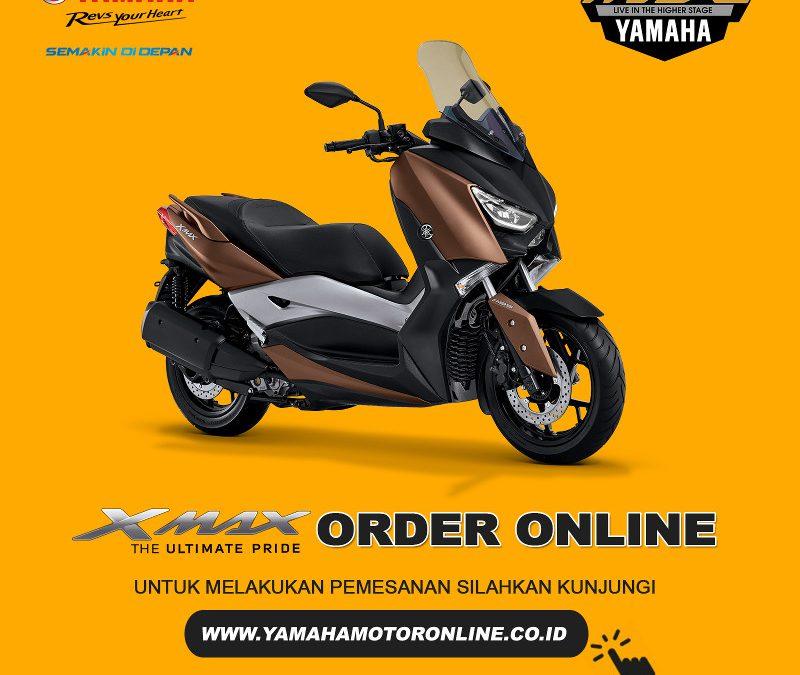 Pemesanan Online Yamaha XMAX Dibuka Lagi
