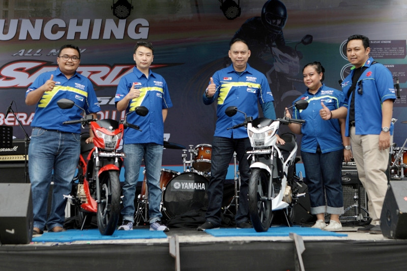 Warna-warna Baru Suzuki All New Satria F150 Lebih Stylish