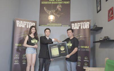 Raptor Cat (Basecoat) Anti Gores Pertama di Indonesia