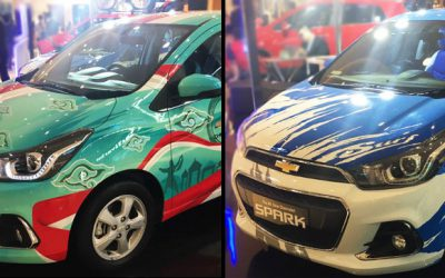 Para Pemenang Kompetisi Desain The All-New Chevrolet Spark Angkat Tema Indonesia