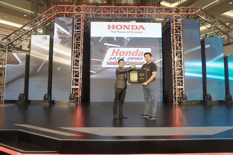 Honda Prospect Motor Raih Penghargaan Tertinggi ROI