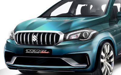 Modifikasi Virtual Suzuki SX4 S-Cross Bergaya Sporty
