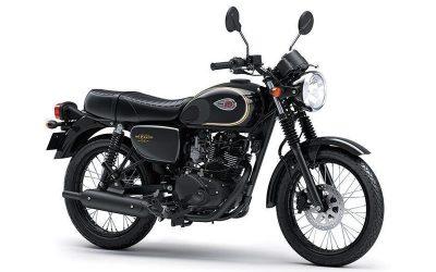 Kawasaki W175 Klasik dengan Gaya Inggris