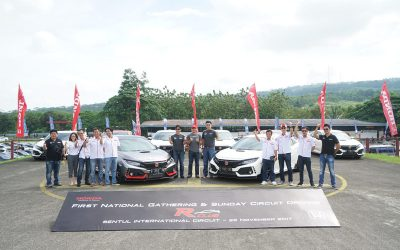 Gathering Perdana Pemilik Honda Civic Type R