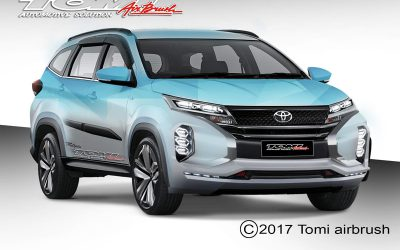 Modifikasi Virtual Toyota All New Rush