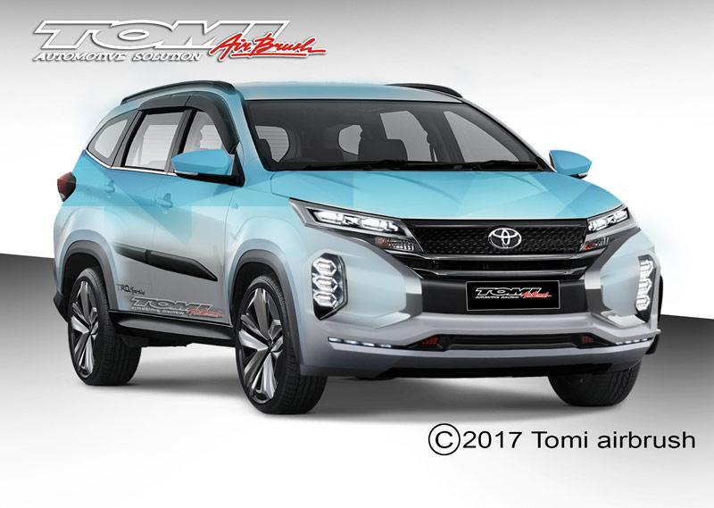 Modifikasi Virtual Toyota All New Rush