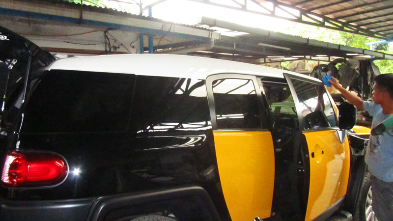 Wrapping Sticker Toyota FJ Cruiser