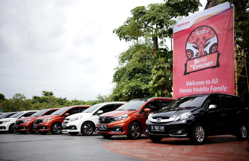 Honda Mobilio Irit, Tembus 25,4 Km/Liter