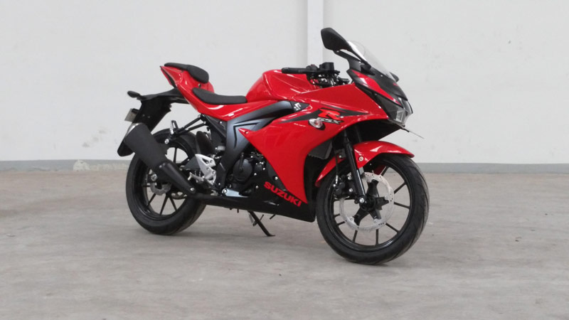 Ganti Fitur Kunci, Suzuki GSX-R150 Turun Harga