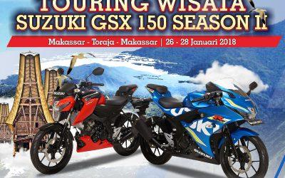 Komunitas Suzuki GSX 150 Siap Jelajah Toraja