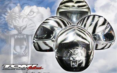 Helm-helm Modifikasi Terkini Dari Tomi Airbrush