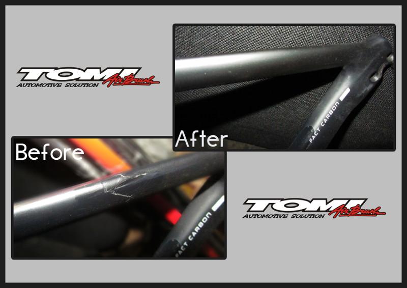 Tomi Airbrush Spesialis Reparasi Sepeda Branded