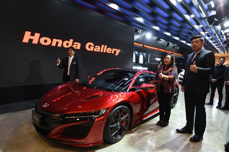 Galeri Honda Pertama di Dunia Ada di Senayan