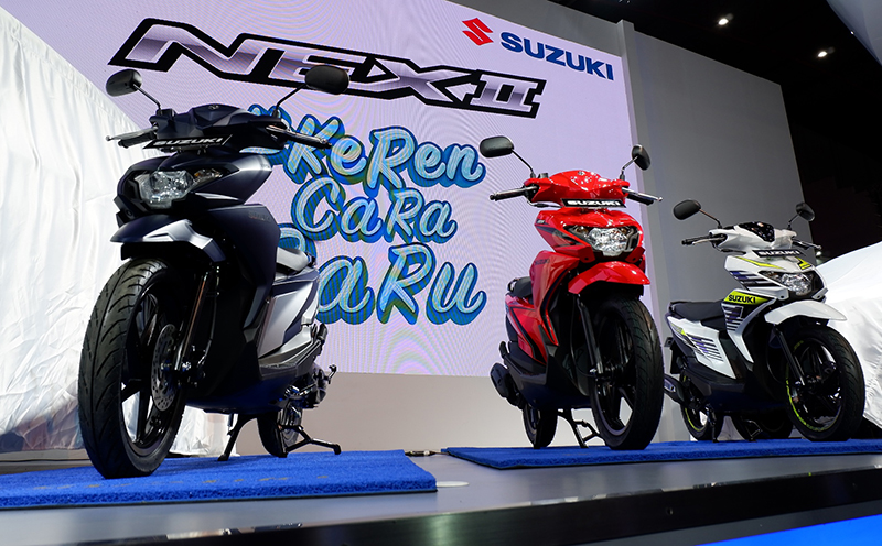 Suzuki NEX Generasi II, Isi Segmen Skuter Matic Entry Level
