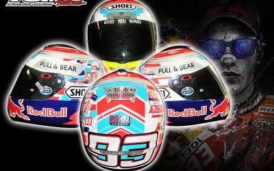 Helm Replika Marc Marquez
