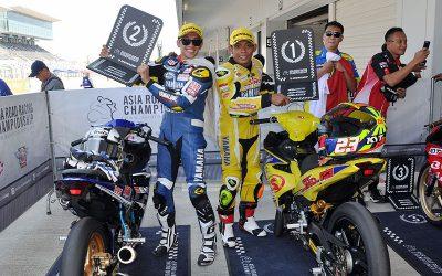 Dua Pebalap Yamaha Berhasil Kibarkan Merah Putih di ARRC 2018