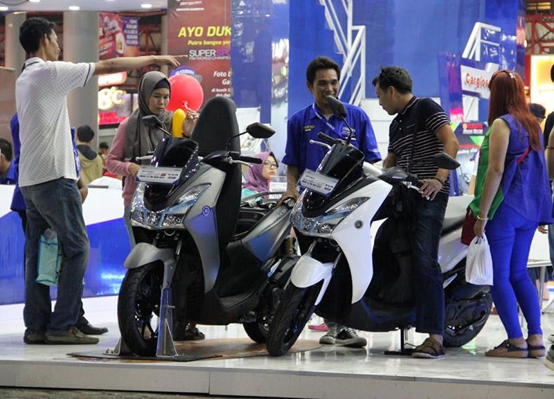 Yamaha Lexi Jadi Perhatian Pengunjung Jakarta Fair 2018