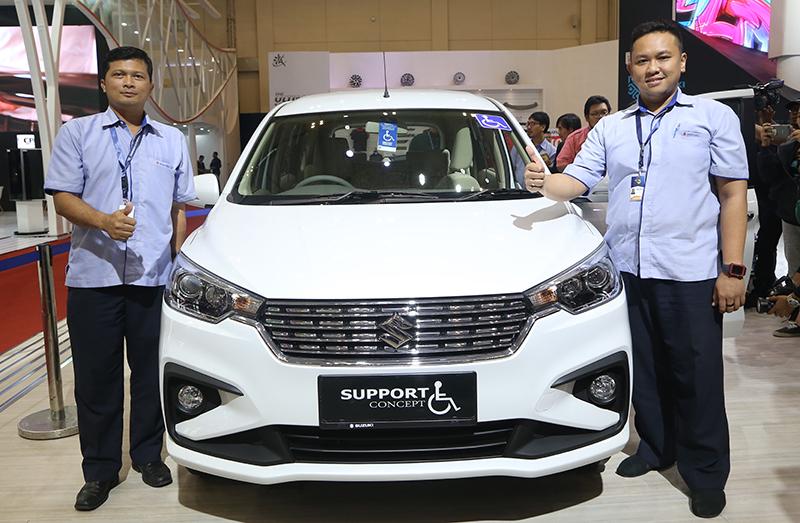 Suzuki All New Ertiga Support Concept Perhatikan Konsumen Berkebutuhan Khusus