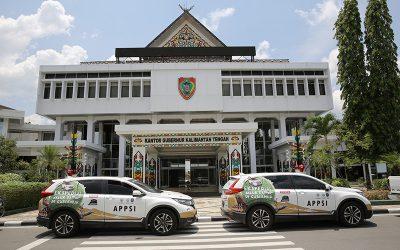 Rombongan Honda All New CR-V Turbo Jelajah Nusantara Lintas Kalimantan