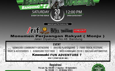 Kawasaki Bike Week 2018 Segera Hadir di Bandung