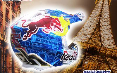 Modifikasi Helm Cross Airoh Konsep Marvin Musquin