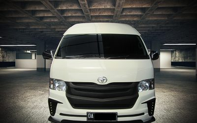 Modifikasi Toyota Hiace Berkonsep Japanese Style