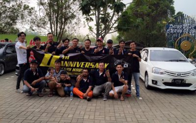 TEVCI Korwil Banten Rayakan Ultah dan Pembentukan Pengurus Baru
