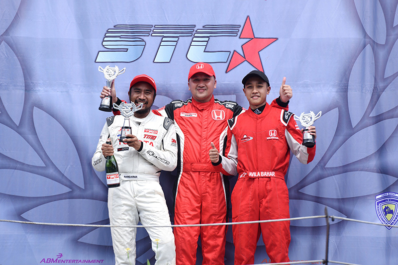 Alvin Bahar Juarai Seri Enam ITCC 1600 Max