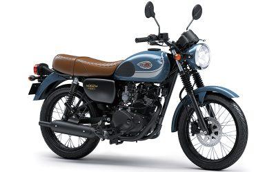 Warna dan Striping Baru Segarkan Tampilan Kawasaki W175