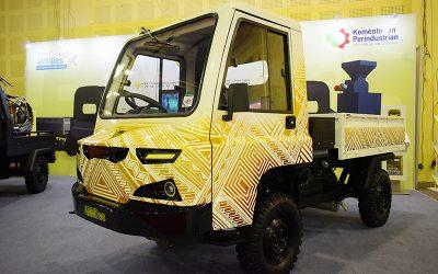 Modifikasi AMMDes Berkonsep Batik di IMX 2018
