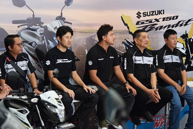 Touring Suzuki GSX150 Bandit Sambangi Pulau Dewata