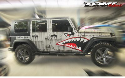 Jeep Wrangler Rubicon Tiger Shark