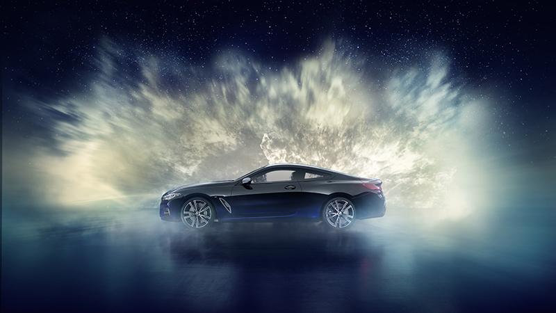BMW M850i Night Sky Edition Bertabur Bintang