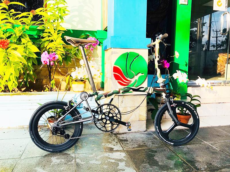 Tips Bikin Tampilan Sepeda Lipat Bromptom Lebih Eksklusif