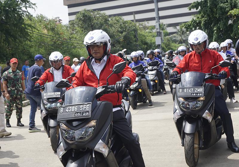 Yamaha Dukung Kementerian Perhubungan Sosialisasikan Keselamatan Berkendara