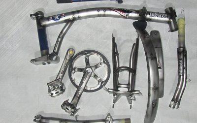 Modifikasi Airbrush US ARMY Sepeda Lipat Bromptom