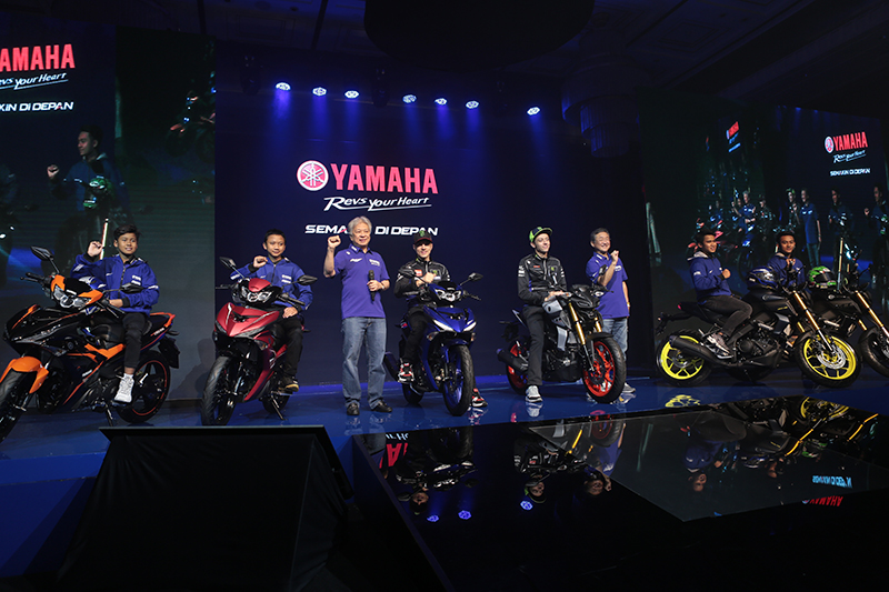 Yamaha Rilis Yamaha MT-15 dan Yamaha New MX-King