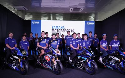 Pebalap Muda YRI Diperkenalkan Bersama Para Rider Top Dunia