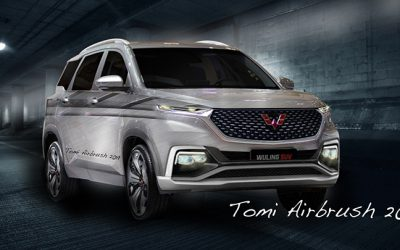 Modifikasi Virtual : Pertajam Karakter Wuling Almaz Sebagai SUV Pintar & Sporty
