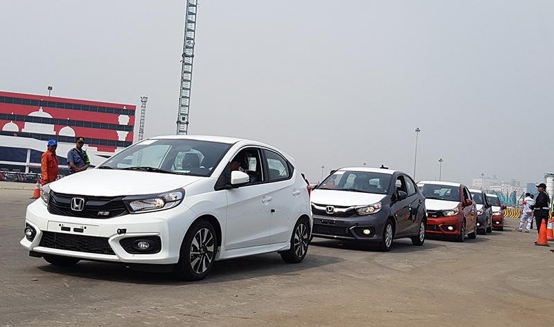 Honda All New Brio Mulai Diekspor
