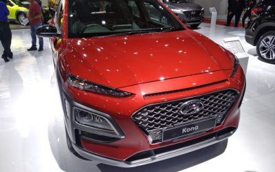 Hyundai Kona Siap Bersaing di Segmen SUV Compact
